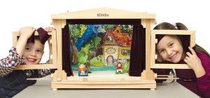 Дървен куклен театър