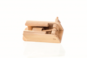 wooden engine toy