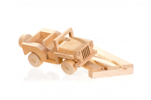 wooden jeep/suv