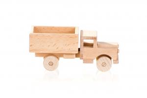 wooden eco truck